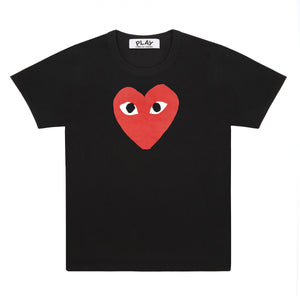 Red Play T-Shirt (Black)