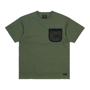 MILITARY MESH POCKET T SHIRT