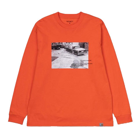 SURAJ BHAMARA CADILLAC LONG SLEEVE | ORANGE