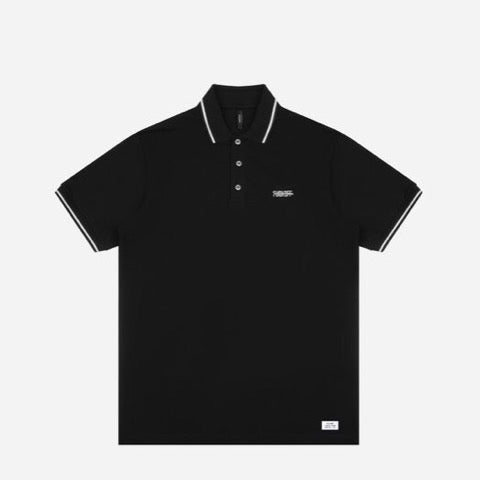 F***OFF POLO | BLACK