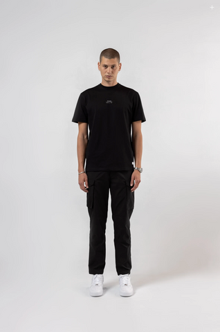 DESERT DRILL CARGO TECH PANT - BLACK