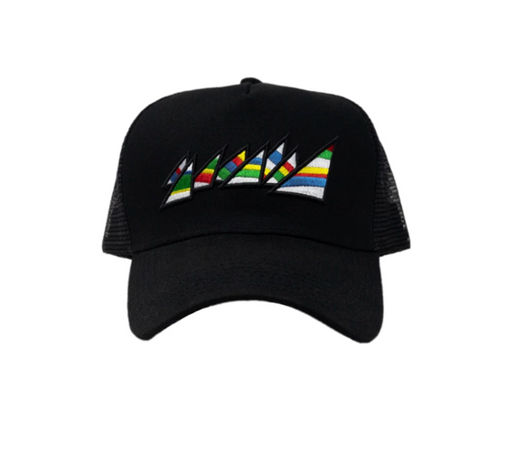 ROK MIA | BLACK OG TRUCKER HAT | ONE SIZE