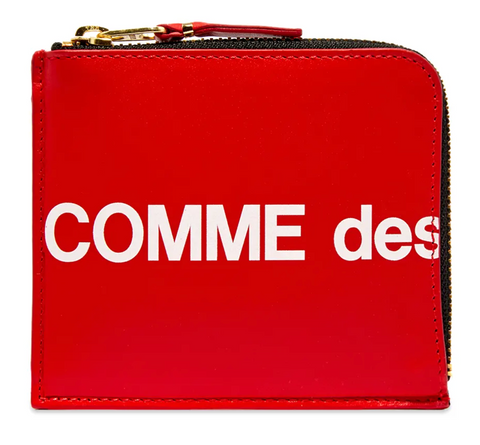 CDG Huge Logo Wallet SA3100HL (Red)