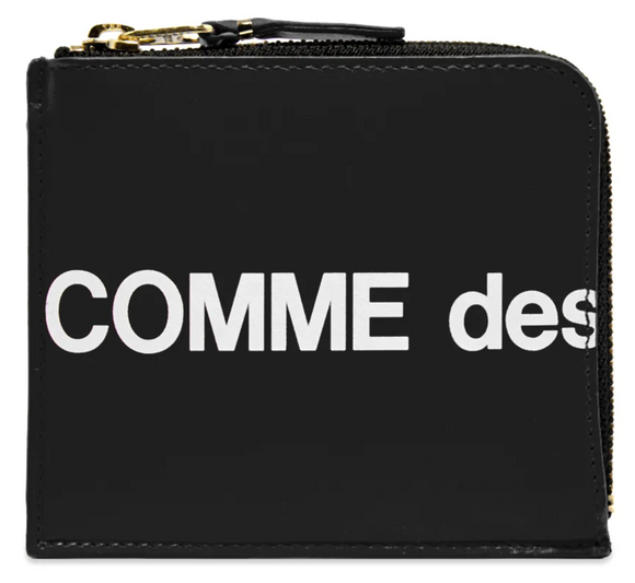 CDG Huge Logo Wallet SA3100HL (Black)