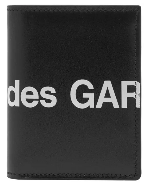 CDG Huge Logo Wallet SA0641HL (Black)