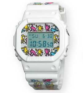 G-SHOCK x KEITH HARING DW5600 LIMITED EDITION