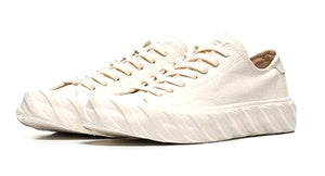 A.G.E. CUT SNEAKERS | WHITE