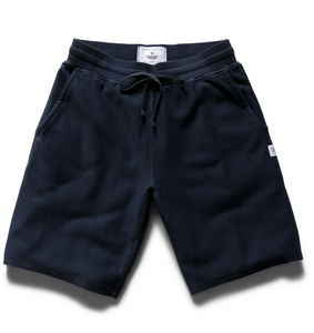 SHORT MENS NAVY | REVERSE TWILL TERRY