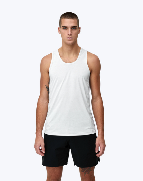 TRAINING TANK MENS SKY GREY | DELTAPEAK™ 90