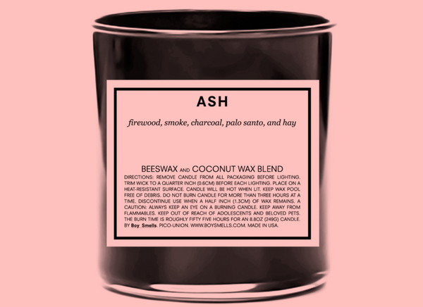 Ash Scented Candle