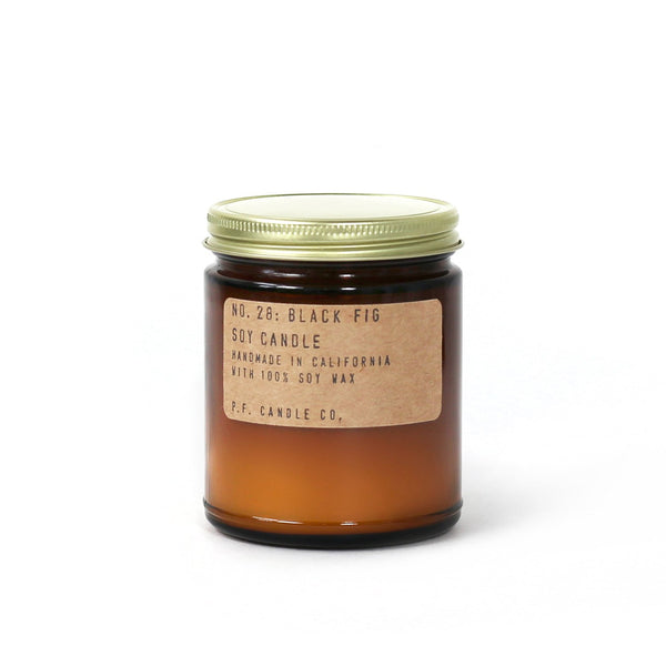 Black Fig | Soy Wax Candle | The Happy Goods Co.