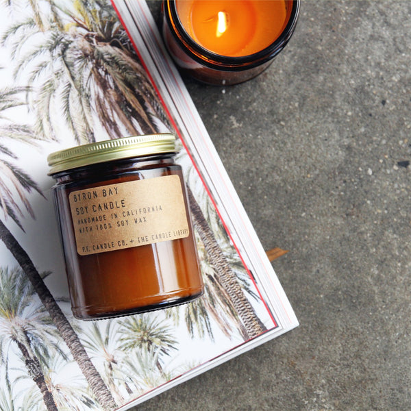 Byron Bay | Soy Wax Candle | The Happy Goods Co.