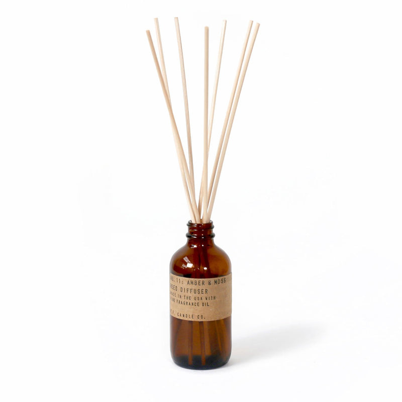 Amber & Moss Reed Diffuser | Reed Diffuser | The Happy Goods Co.