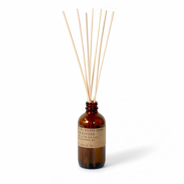 Golden Coast Reed Diffuser | Reed Diffuser | The Happy Goods Co.