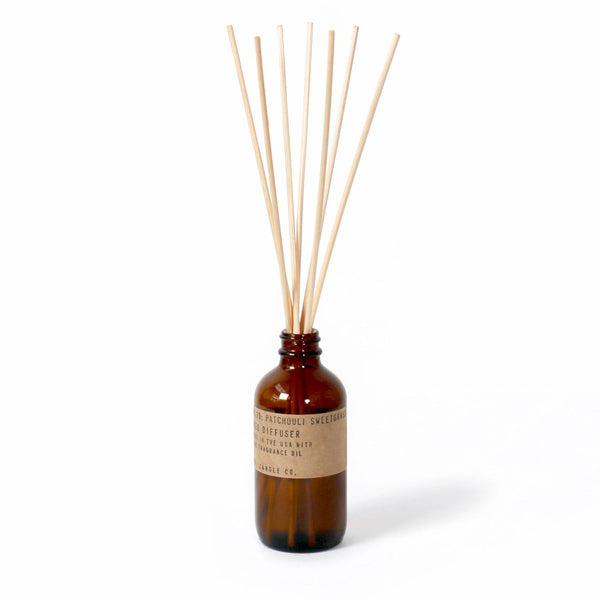 Patchouli Sweetgrass Reed Diffuser | Reed Diffuser | The Happy Goods Co.