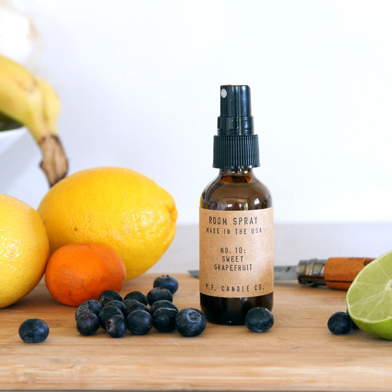 Sweet Grapefruit Room Spray | Room Spray | The Happy Goods Co.