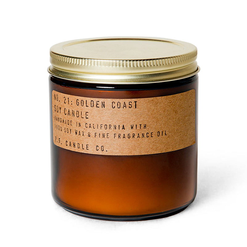 Golden Coast | Soy Wax Candle | The Happy Goods Co.