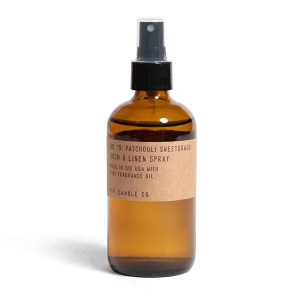 Patchouli Sweetgrass Room Spray | Room Spray | The Happy Goods Co.