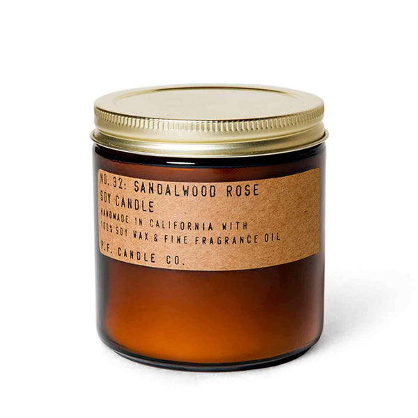 Sandalwood Rose | Soy Wax Candle | The Happy Goods Co.