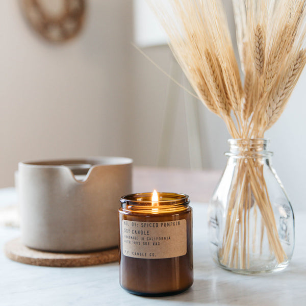 Spiced Pumpkin | Soy Wax Candle | The Happy Goods Co.
