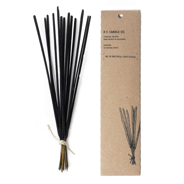 Patchouli Sweetgrass Incense | Incense | The Happy Goods Co.