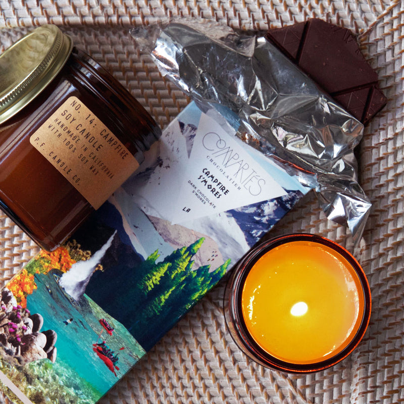 Campfire | Soy Wax Candle | The Happy Goods Co.