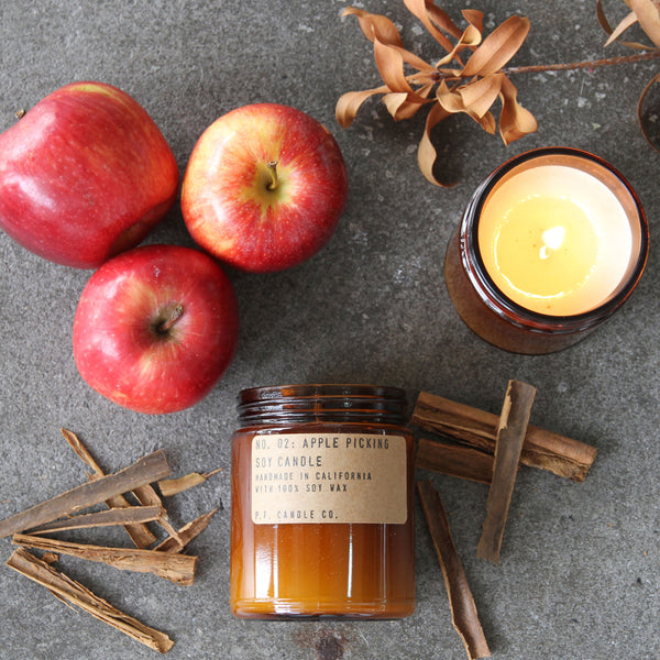Apple Picking | Soy Wax Candle | The Happy Goods Co.