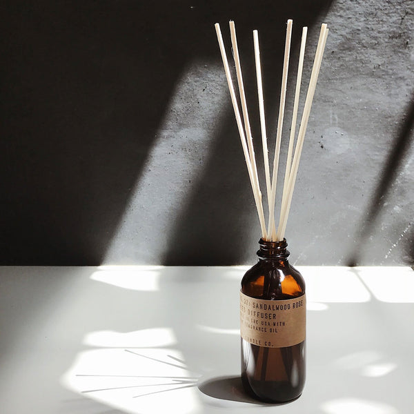 Sandalwood Rose Reed Diffuser | Reed Diffuser | The Happy Goods Co.