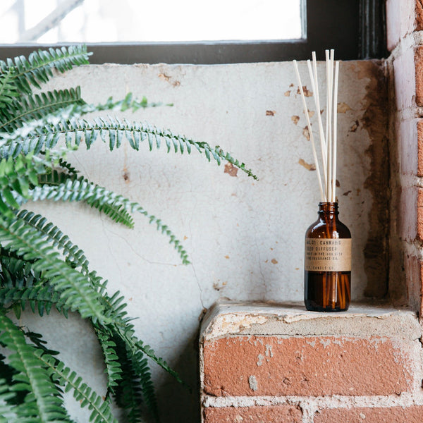 Cannabis Reed Diffuser | Reed Diffuser | The Happy Goods Co.