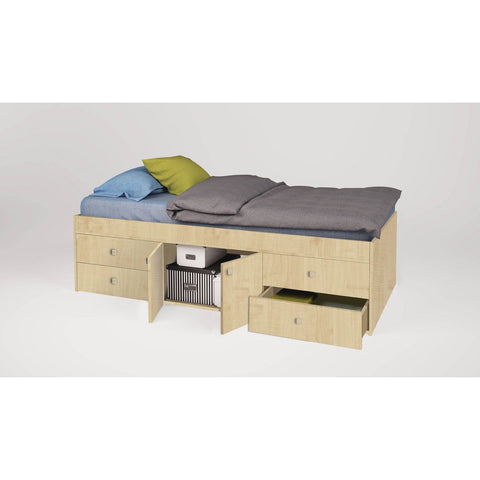 Jugendbett - Polini Kids Jugendbett Kinderbett Simple 3100 Natur,1411.30