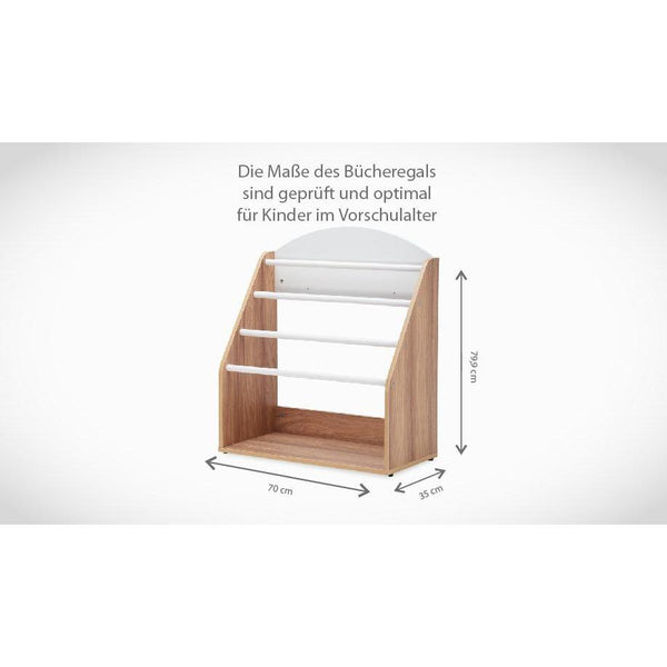 Regale - Babystep Kinder Baby Bücherregal Mit Hängefach Holiday 800, 1446-3