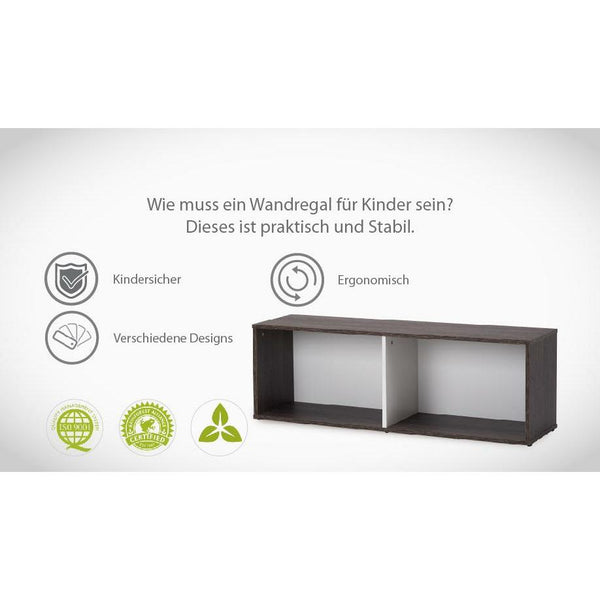 Regale - Babystep Kinder Regal Bücherregal Loft 400, 1445-7