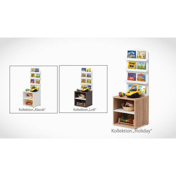 Regale - Babystep Standregal Für Kinder Musikbibliothek Holiday 1100, 1446-8