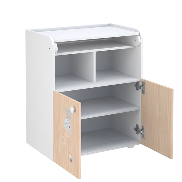 Wickeltisch - Polini Kids Baby Wickelkommode Wickeltisch French Amis, 1535.62