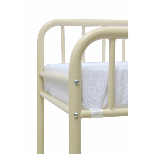 Wickeltisch - Polini Kids Baby Wickeltisch Wickelstation Wickelregal Vintage Cream