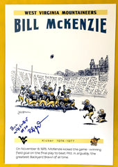 SIgned Bill McKenzie