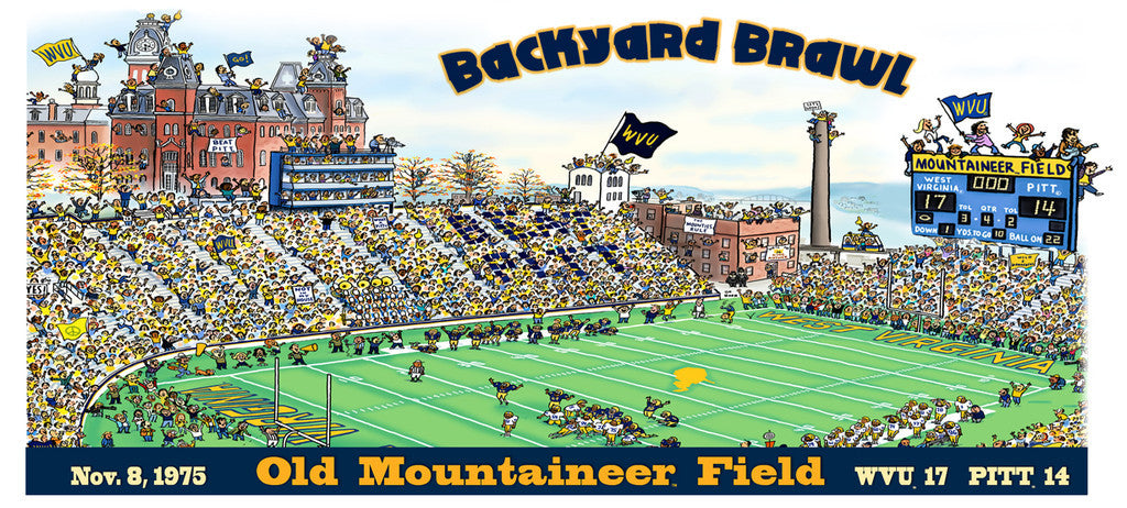 Backyard Brawl 75 Mug