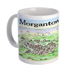 Mug Morgantown Map