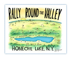 Rally Round the Valley print