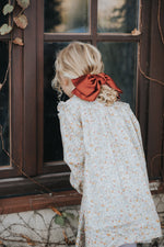 Oversize Silk Bow // Red
