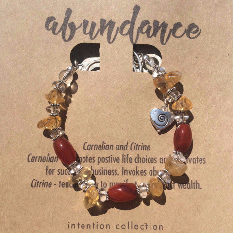 Abundance Bracelet - Intention Collection