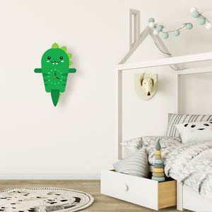 Dinosaur Wall Clock with pendulum tail - Oddly Wild