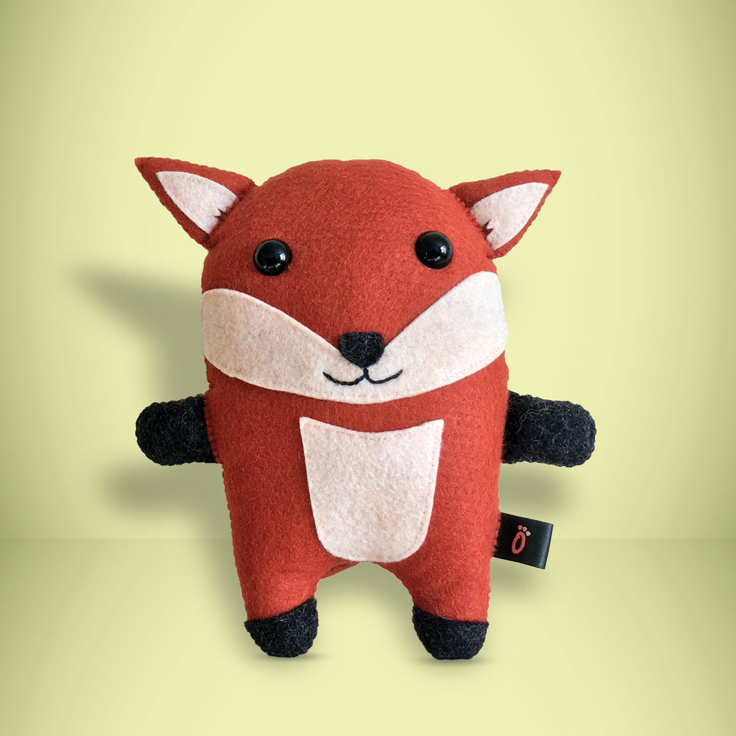 Fox - Sew Your Own Felt Kit - Oddly Wild