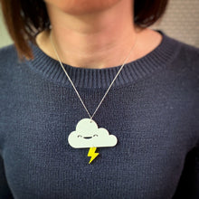 Load image into Gallery viewer, Cloud Lightning Necklace - Oddly Wild