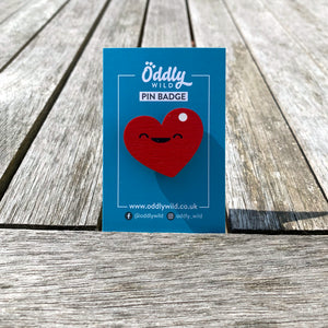 Heart Pin - Oddly Wild