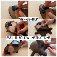 Load image into Gallery viewer, Otter - Sew Your Own Felt Kit - Oddly Wild