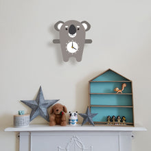 Load image into Gallery viewer, Koala Wall Clock