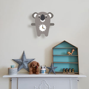 Koala Wall Clock - Oddly Wild