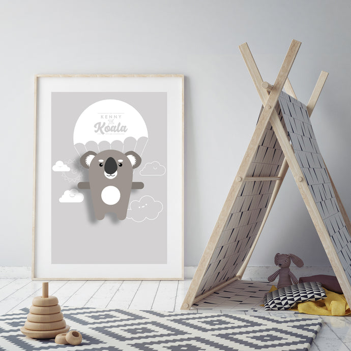 Kenny the Koala Animal Print - Instant Digital Download