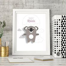 Load image into Gallery viewer, Kenny the Koala Animal Print - Instant Digital Download - Oddly Wild